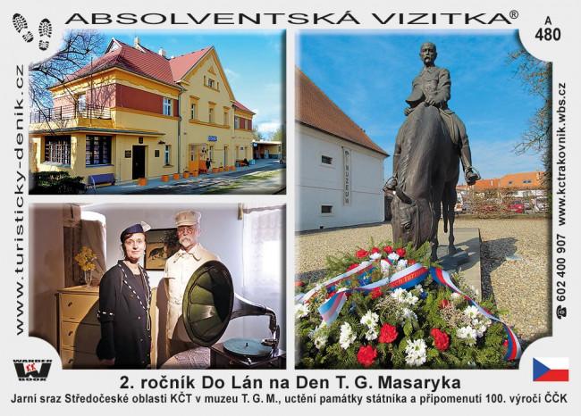 2. ročník Do Lán na Den T. G. Masaryka