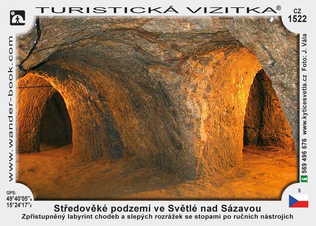 Středověké podz. ve Světlé n. Sázavou