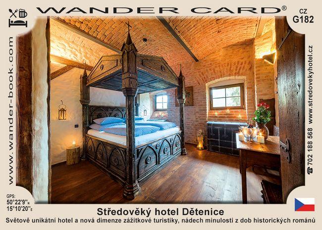 Středověký hotel Dětenice