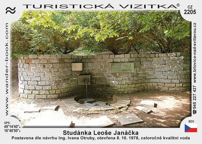 Studánka Leoše Janáčka
