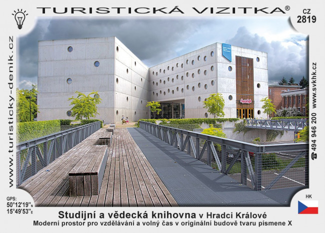 Studijní a vědecka knihovna v Hr. Králové