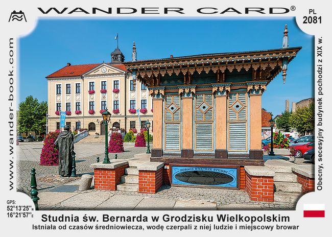 Studnia św. Bernarda w Grodzisku Wielkopolskim