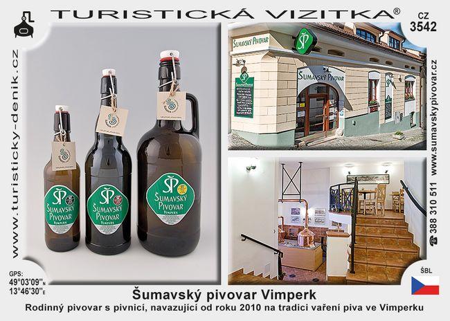 Šumavský pivovar Vimperk