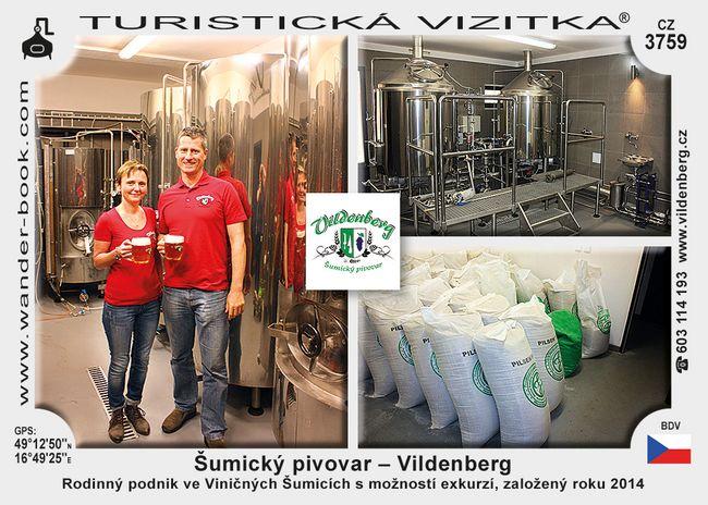 Šumický pivovar - Vildenberg