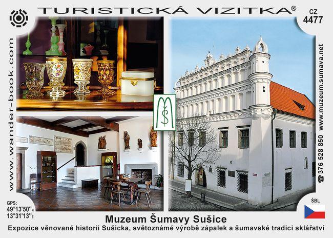 Sušice muzeum Šumavy