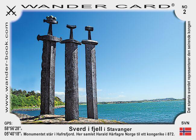 Sverd i fjell i Stavanger