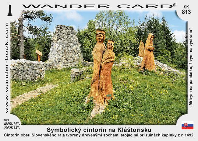 Symbolický cintorín na Kláštorisku
