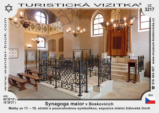 Synagoga maior v Boskovicích