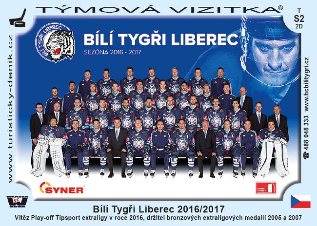 Bílí Tygři Liberec 2016/2017