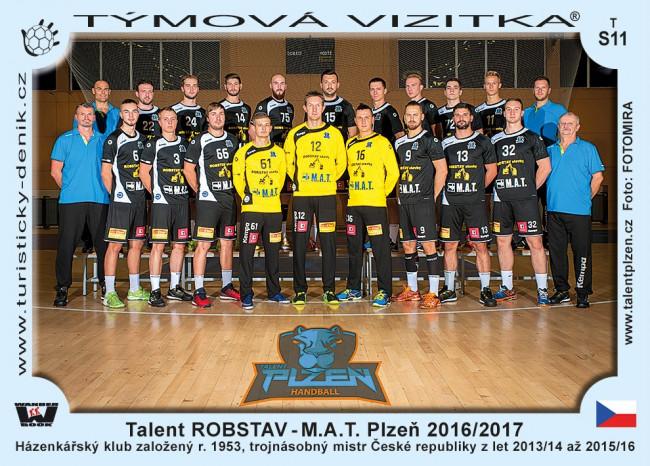 Talent ROBSTAV-M.A.T.Plzen 2016/2017