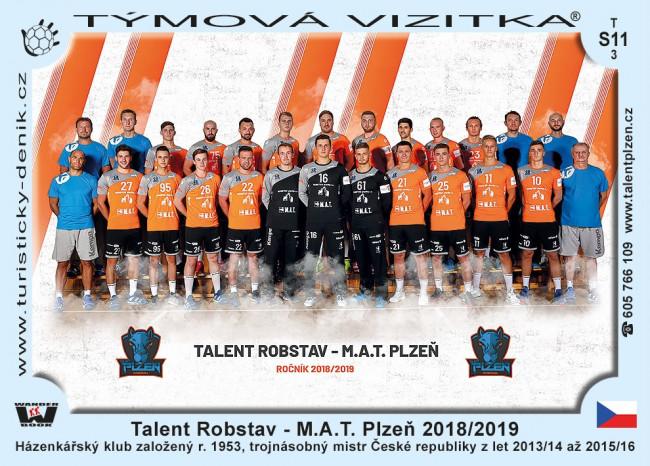 Talent Robstav - M.A.T. Plzeň 2018/2019