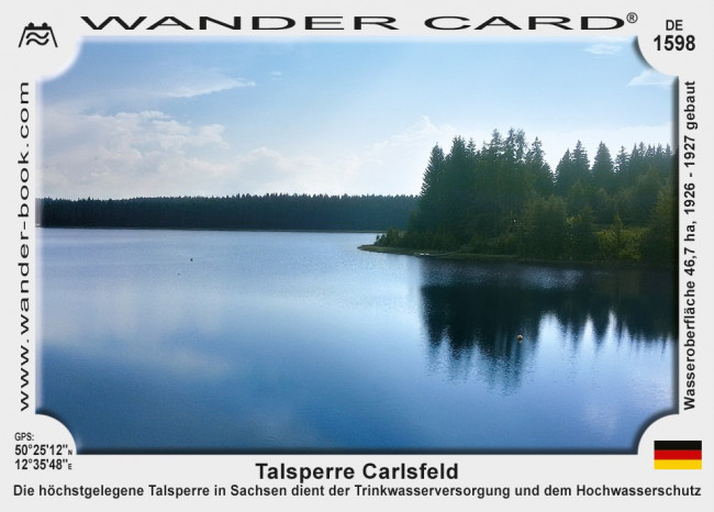 Talsperre Carlsfeld