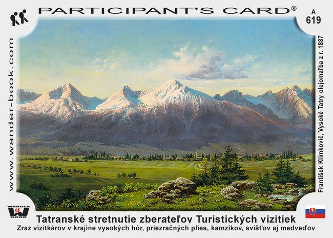 Tatranské stretnutie zberateľov turistických vizitiek