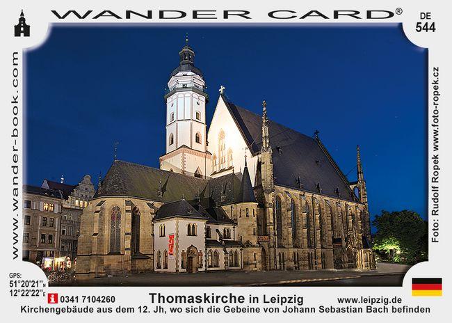 Thomaskirche in Leipzig