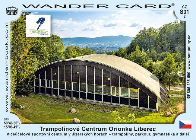 Trampolínové Centrum Orionka Liberec