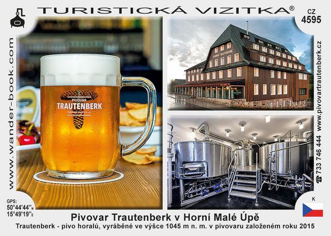 Trautenberk pivovar