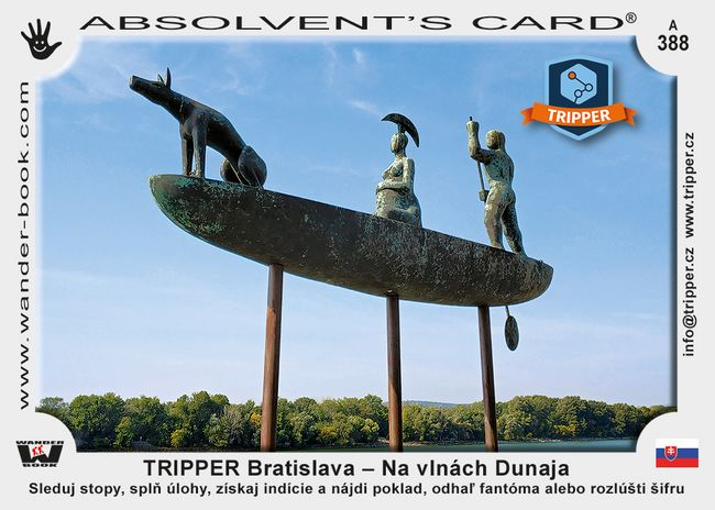 TRIPPER Bratislava – Na vlnách Dunaja