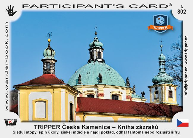 TRIPPER Česká Kamenice – Kniha zázraků