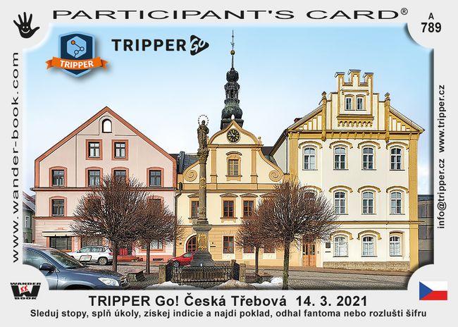 TRIPPER Go! Česká Třebová  14. 3. 2021