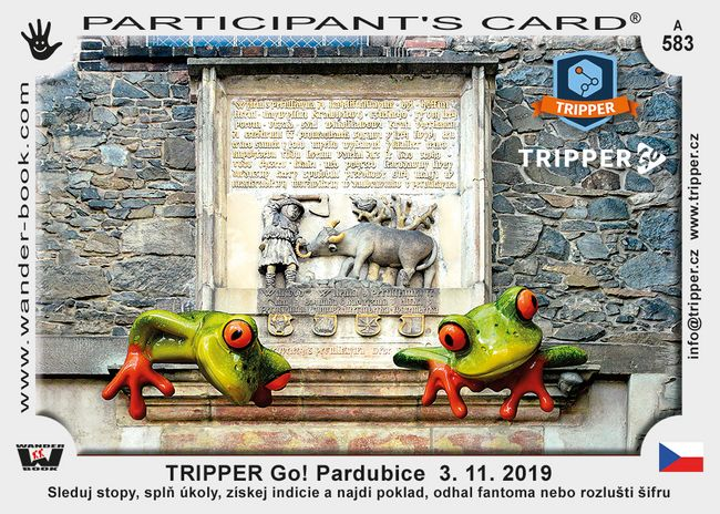 TRIPPER Go! Pardubice  3. 11. 2019
