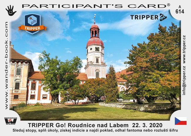 TRIPPER Go! Roudnice nad Labem  22. 3. 2020