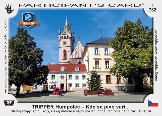 TRIPPER Humpolec – Kde se pivo vaří...