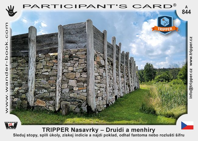 TRIPPER Nasavrky – Druidi a menhiry