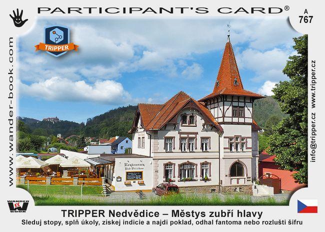 TRIPPER Nedvědice – Městys zubří hlavy