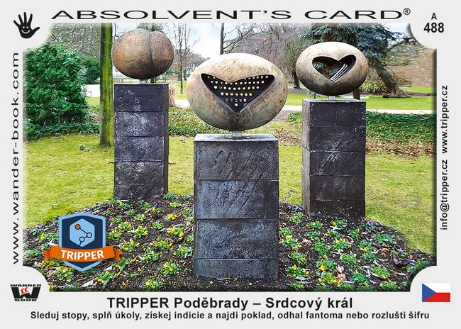 TRIPPER Poděbrady – Srdcový král