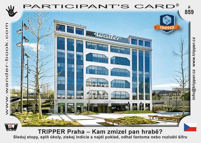 TRIPPER Praha – Kam zmizel pan hrabě?