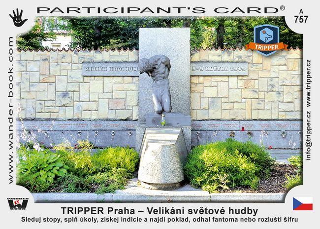 TRIPPER Praha – Velikáni světové hudby