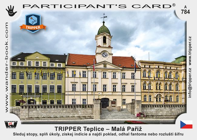 TRIPPER Teplice – Malá Paříž