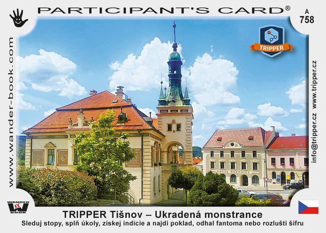 TRIPPER Tišnov – Ukradená monstrance