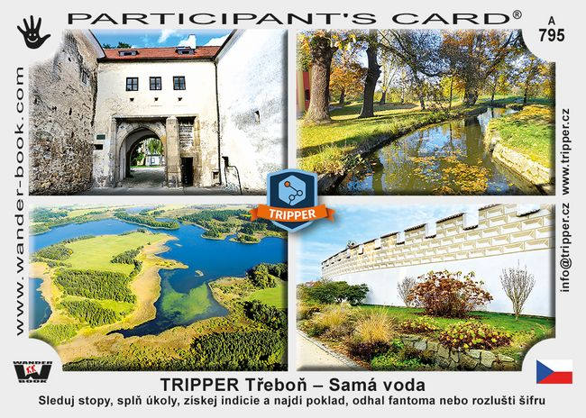 TRIPPER Třeboň – Samá voda