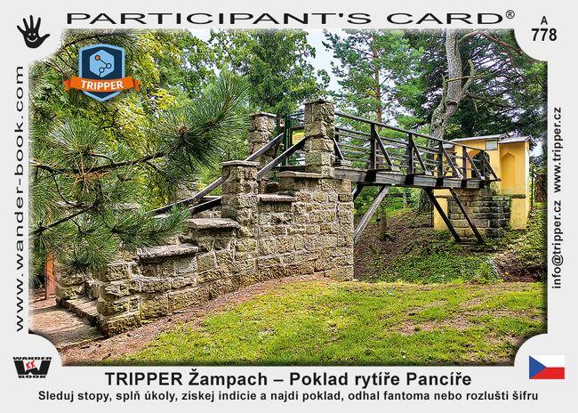 TRIPPER Žampach – Poklad rytíře Pancíře