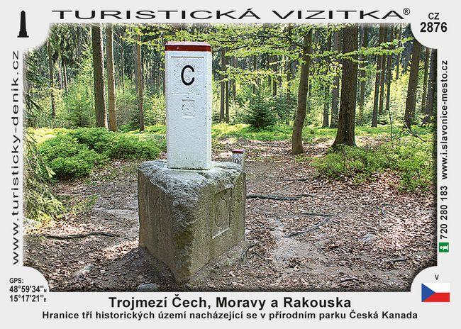 Trojmezí Čech, Moravy a Rakouska