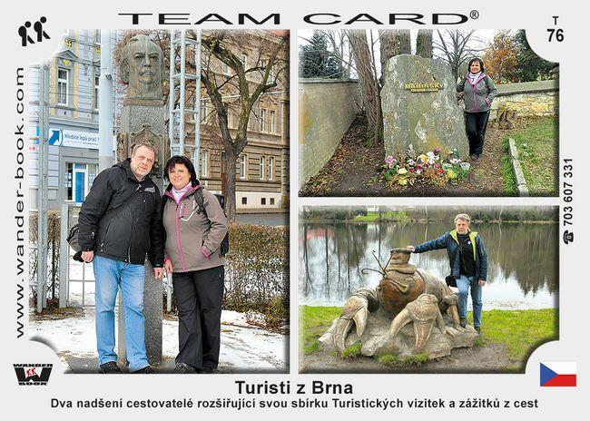 Turisti z Brna