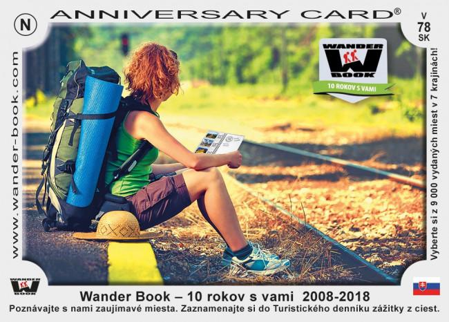 Turistický deník 10 let výročí