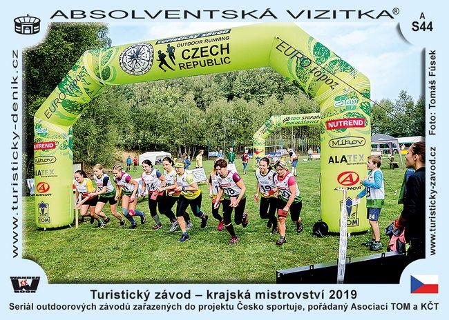 Turistický závod - krajská mistrovství 2019
