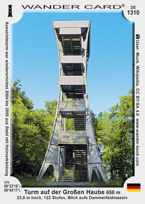Turm auf der Großen Haube