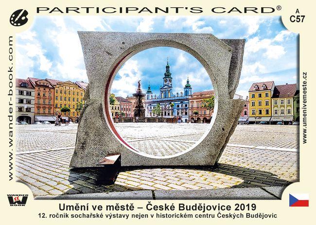 Umění ve městě – České Budějovice 2019
