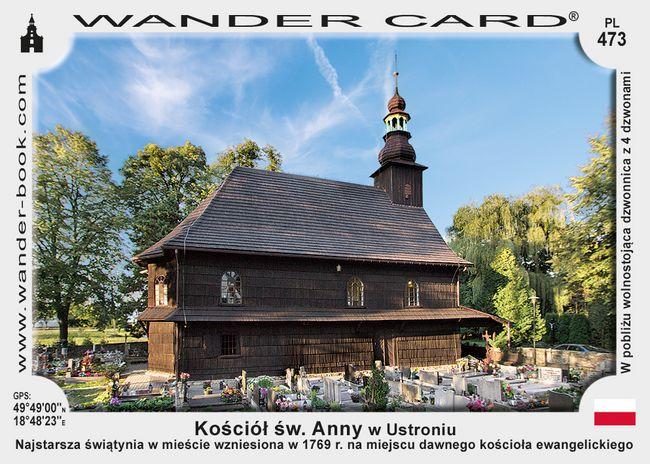 Ustroń kościół drewniany