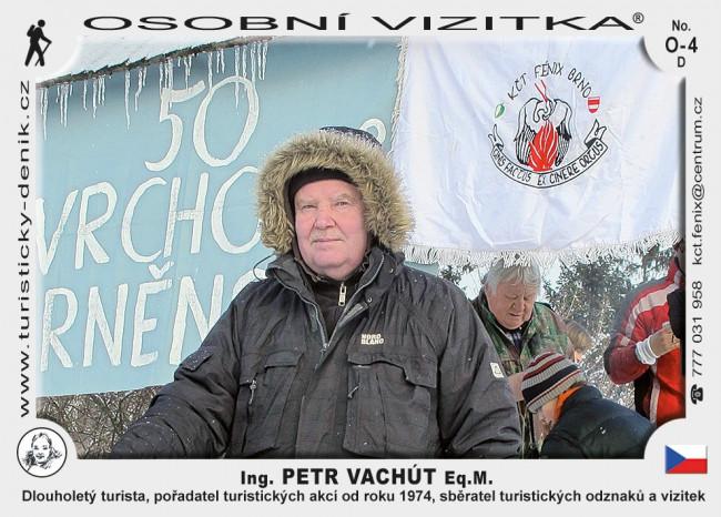 Ing. Petr Vachút, Eq.M.