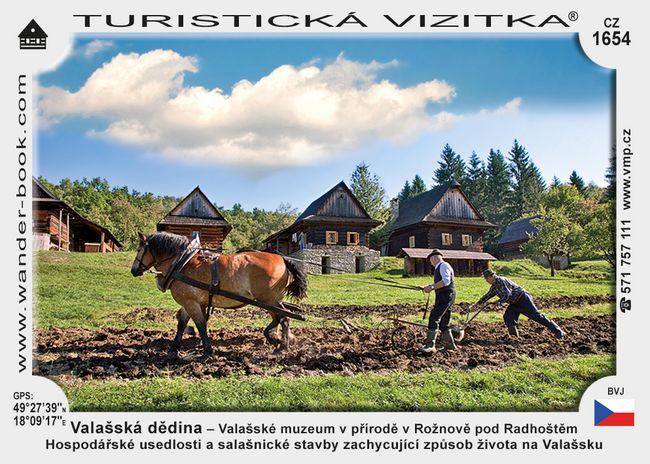 Valaš. dědina - Valaš. muzeum v přírodě