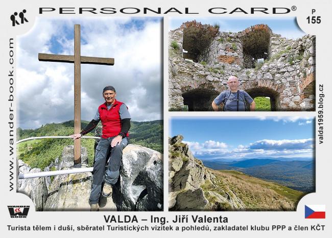 Valda – Ing. Jiří Valenta