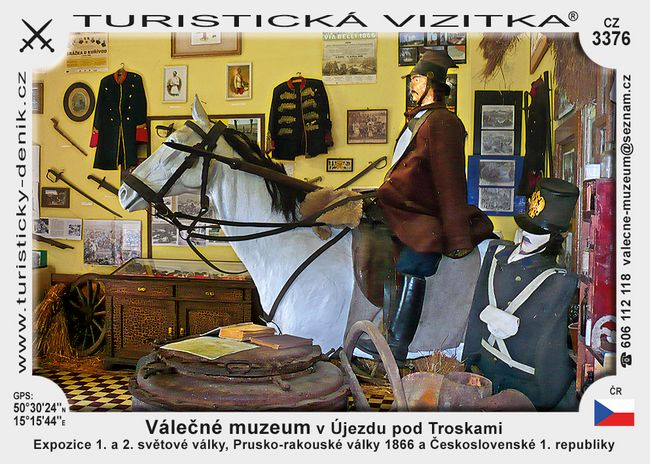 Válečné muzeum v Újezdu p. Troskami