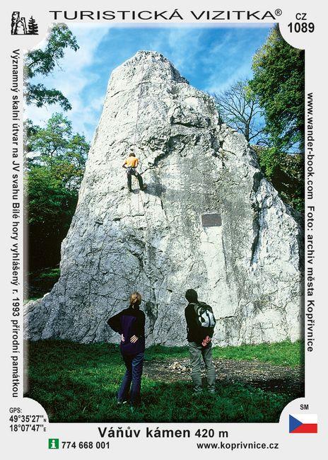 Váňův kámen u Kopřivnice