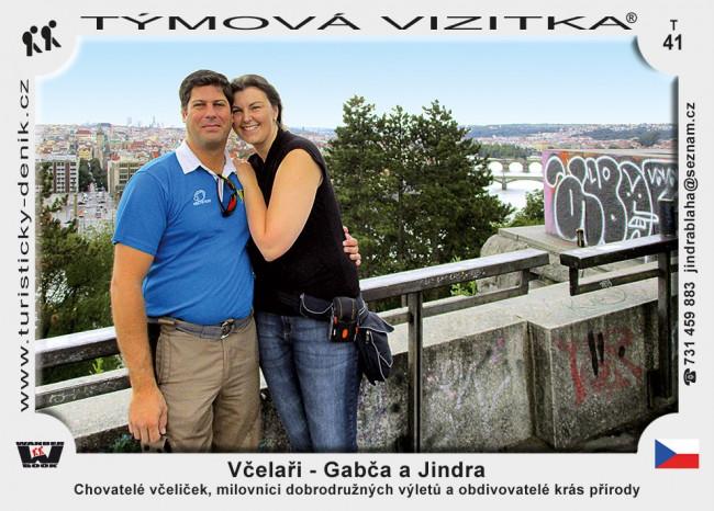 Včelaři - Gabča a Jindra