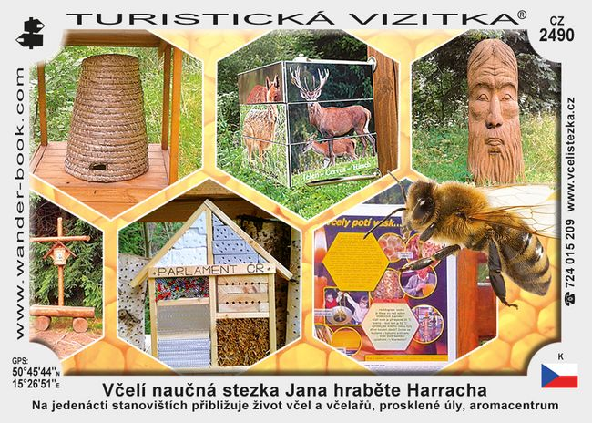 Včelí nauč. stezka J. hraběte Harracha