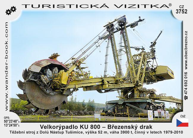 Velkorýpadlo KU - 800 - Březenský drak